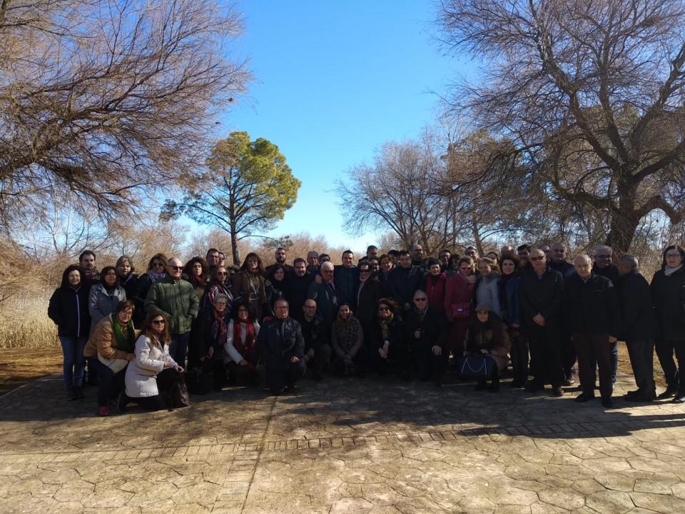 Fotografía de los 5 Grupos de Desarrollo Rural: ADI El Záncara, Asociación Comarcal Don Quijote, Alto Guadiana Mancha, Grupo de Acción Local Dulcinea y el Grupo de Desarrollo de la Sierra de Alcaraz y Campo de Montiel